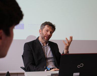 Thilo Kunzemann, Vortrag über Medienarbeit in der EU