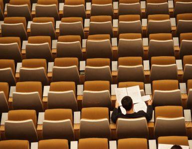 Hörsaal einer Universität